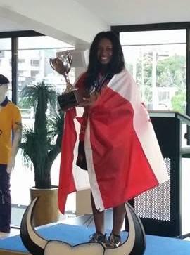 Pricillia Westlake - 2017 World Youth Champion